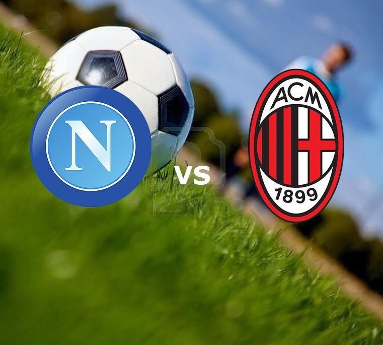 Napoli Milan streaming oggi live gratis