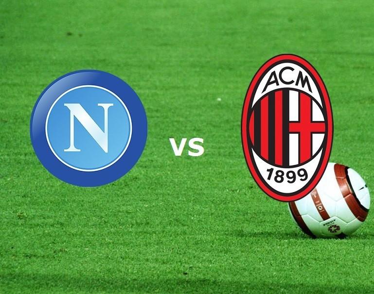 Napoli Milan streaming gratis live. Vede