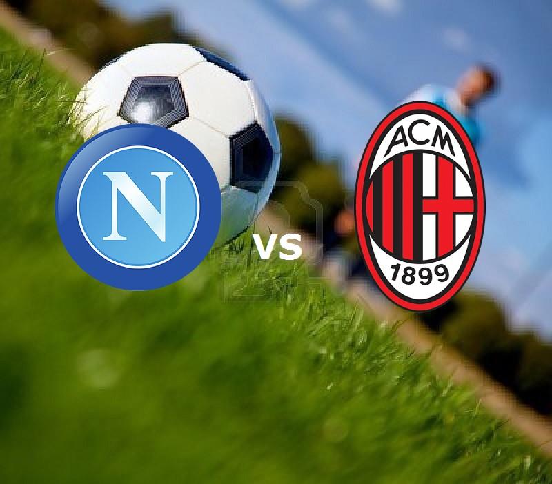 Napoli Milan streaming live gratis siti