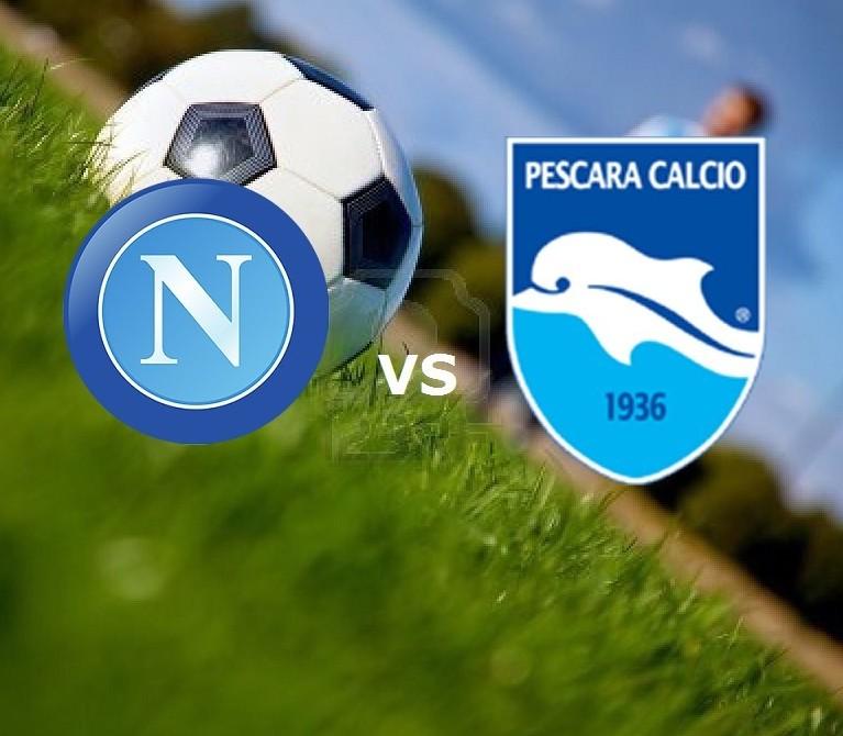 Napoli Pescara streaming su migliori lin