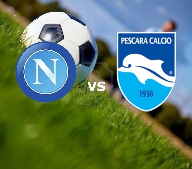 Napoli-Pescara streaming live gratis. Do