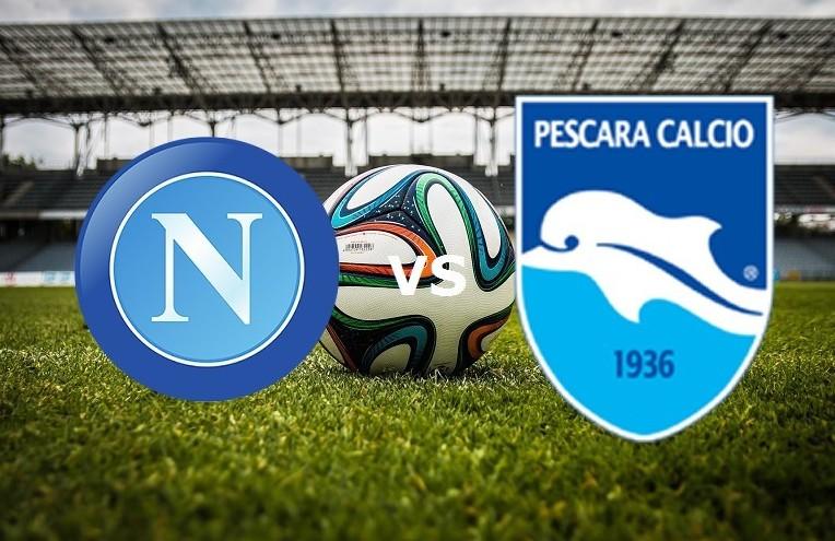 Napoli Pescara streaming live gratis. Do