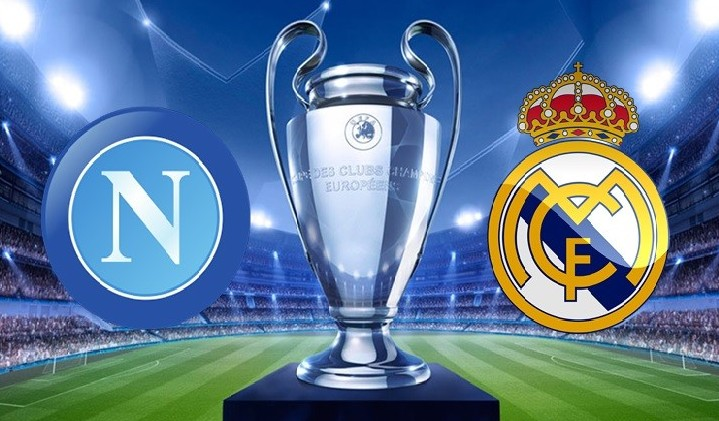 Napoli Real Madrid streaming live gratis