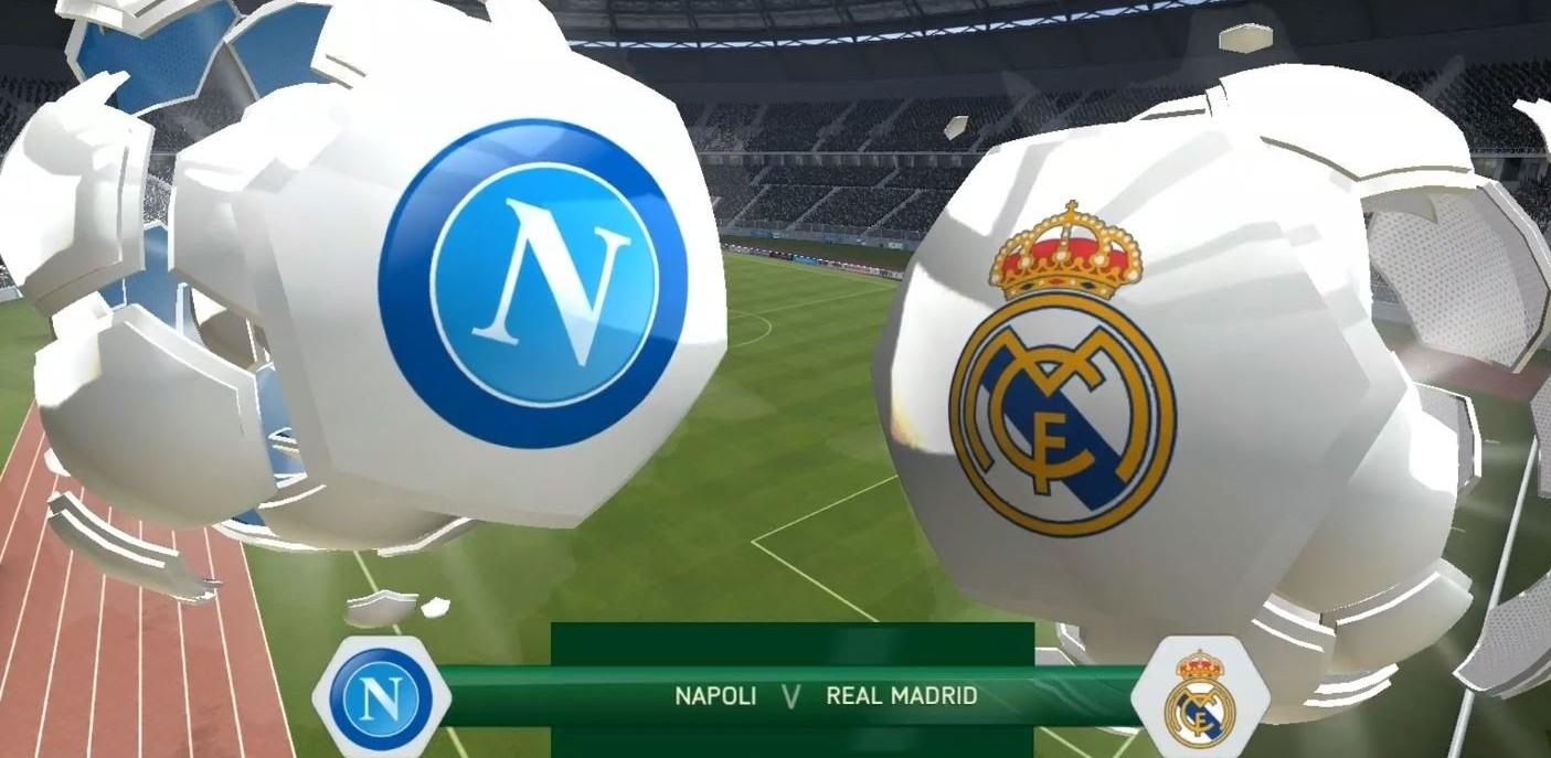 Napoli Real Madrid streaming e in italia