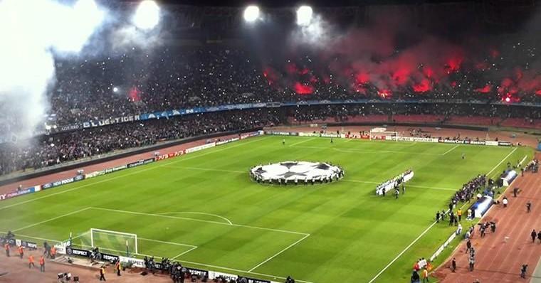 Napoli Real Madrid streaming e siti stre