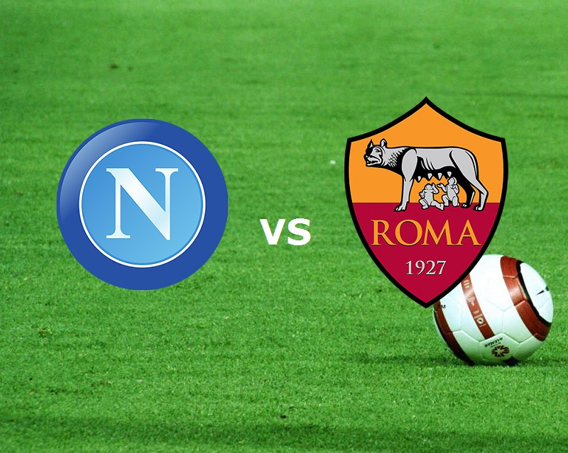 Napoli Roma streaming live gratis. Dove