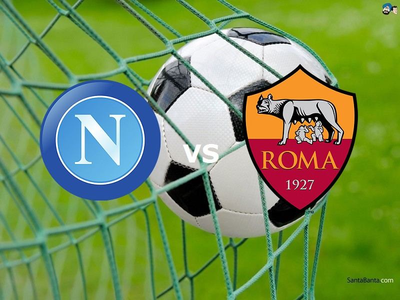 Napoli Roma streaming siti web. Dove ved