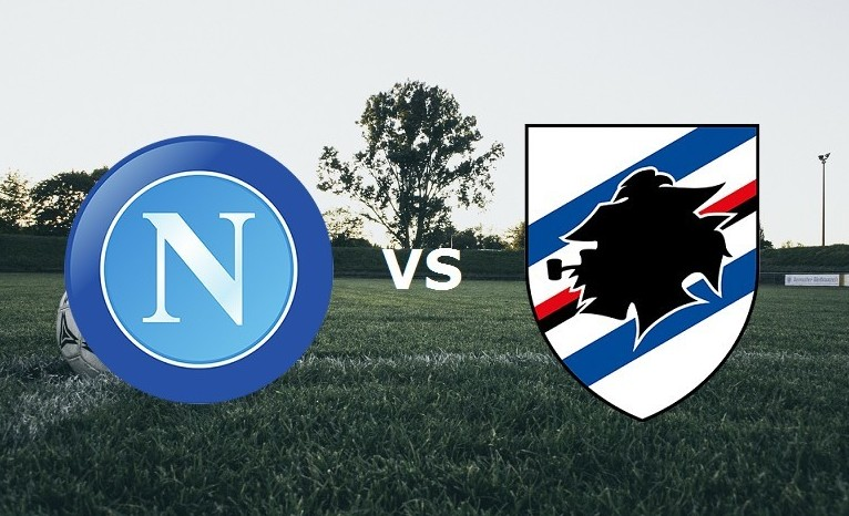 Napoli Sampdoria streaming ora gratis li