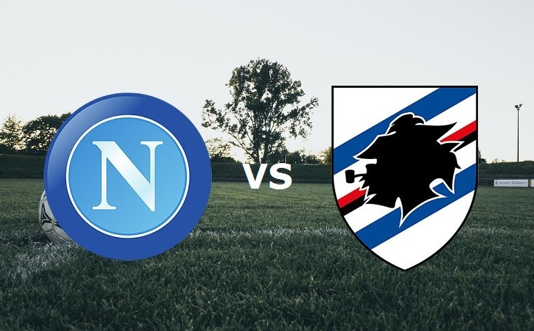 Napoli Sampdoria streaming live gratis d