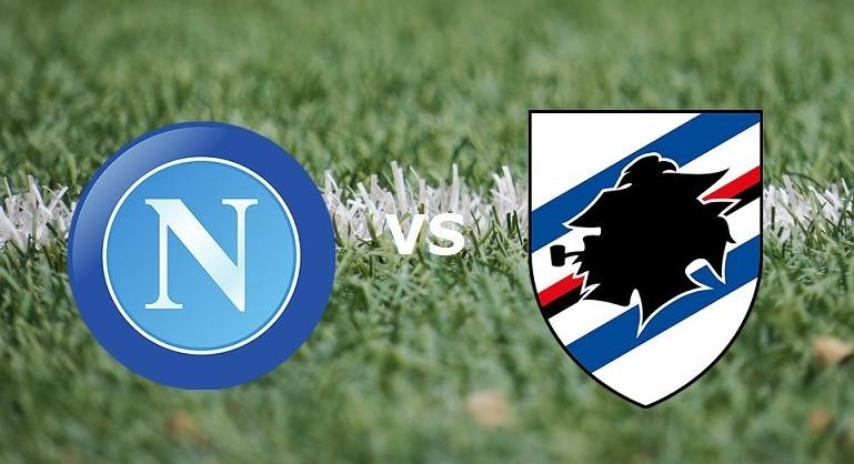 Napoli Sampdoria streaming gratis su sit