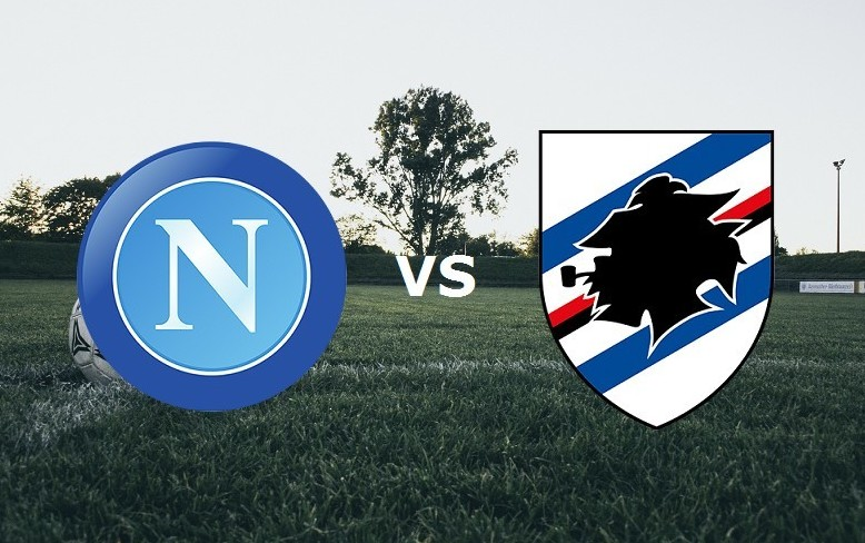 Napoli Sampdoria streaming live gratis.