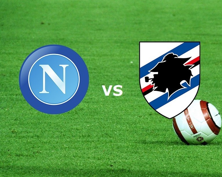 Napoli Sampdoria streaming live gratis p