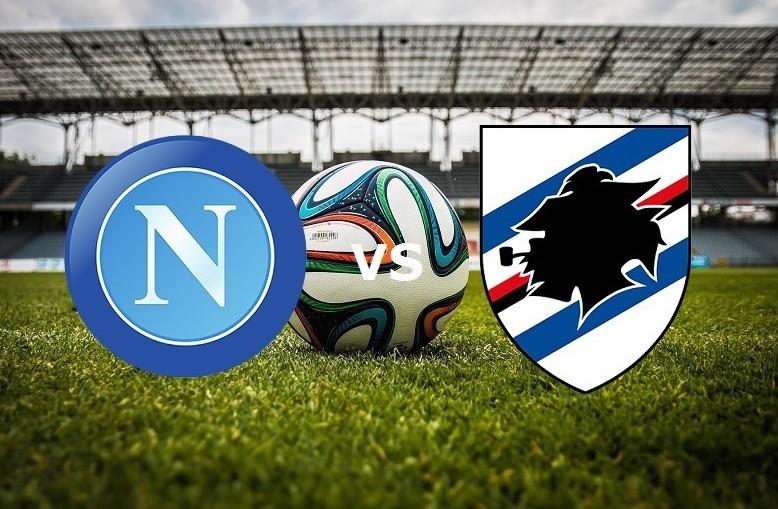 Napoli Sampdoria streaming live gratis m