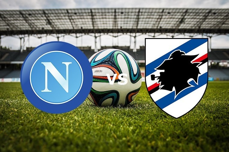 Napoli Sampdoria streaming gratis live s