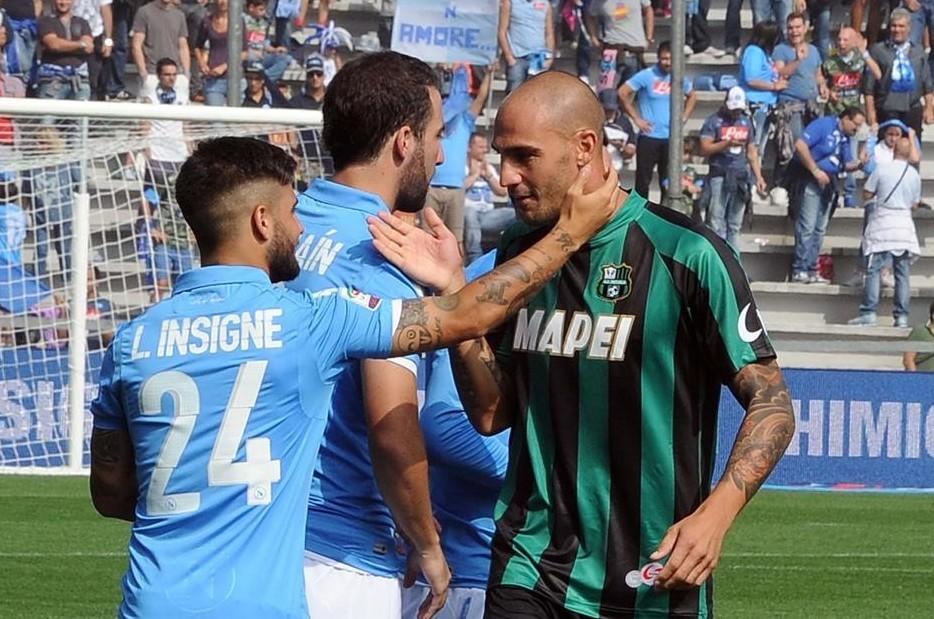 Napoli Sassuolo streaming live gratis di