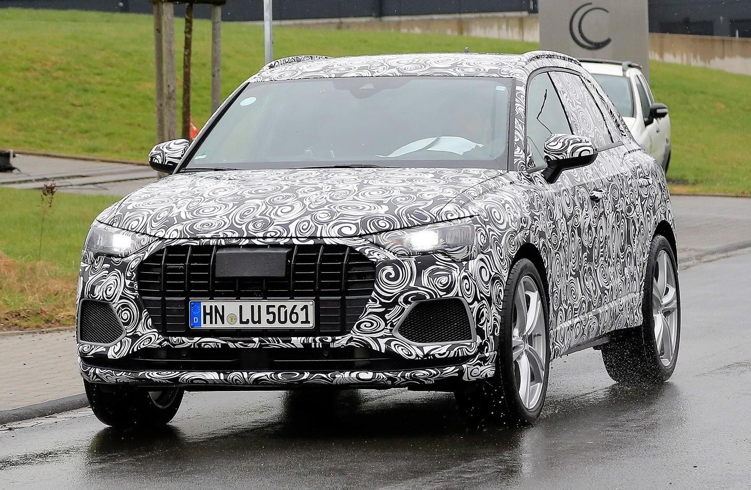 Nuova Audi SQ3, avvistamento nuovo suv s
