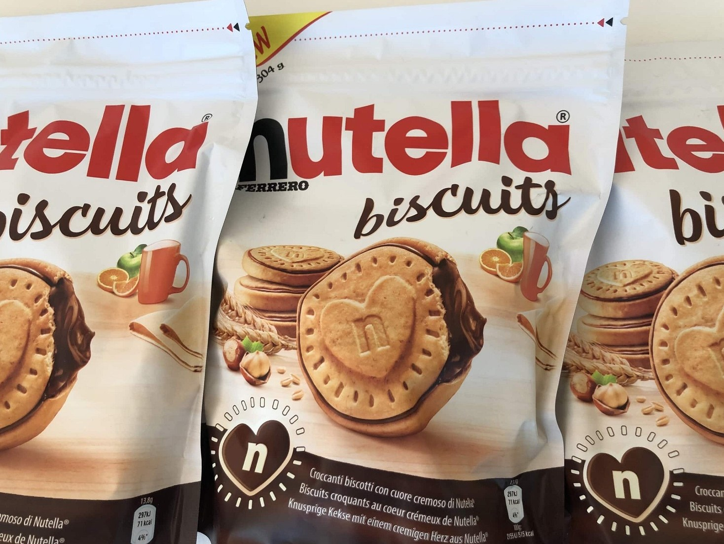 Nutella Biscuits, nuovi biscotti Ferrero