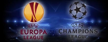 Champions League, Serie A, Serie B  Euro