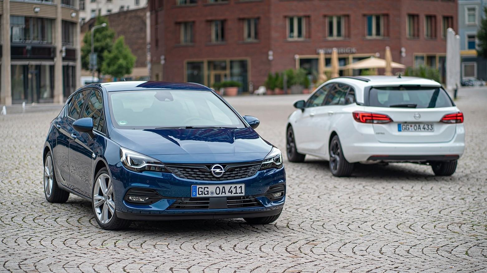 Opel Astra 2019-2010 prezzi listino, mod