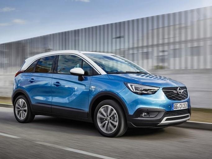 Opel Crossland X giunge quota 100mila. S