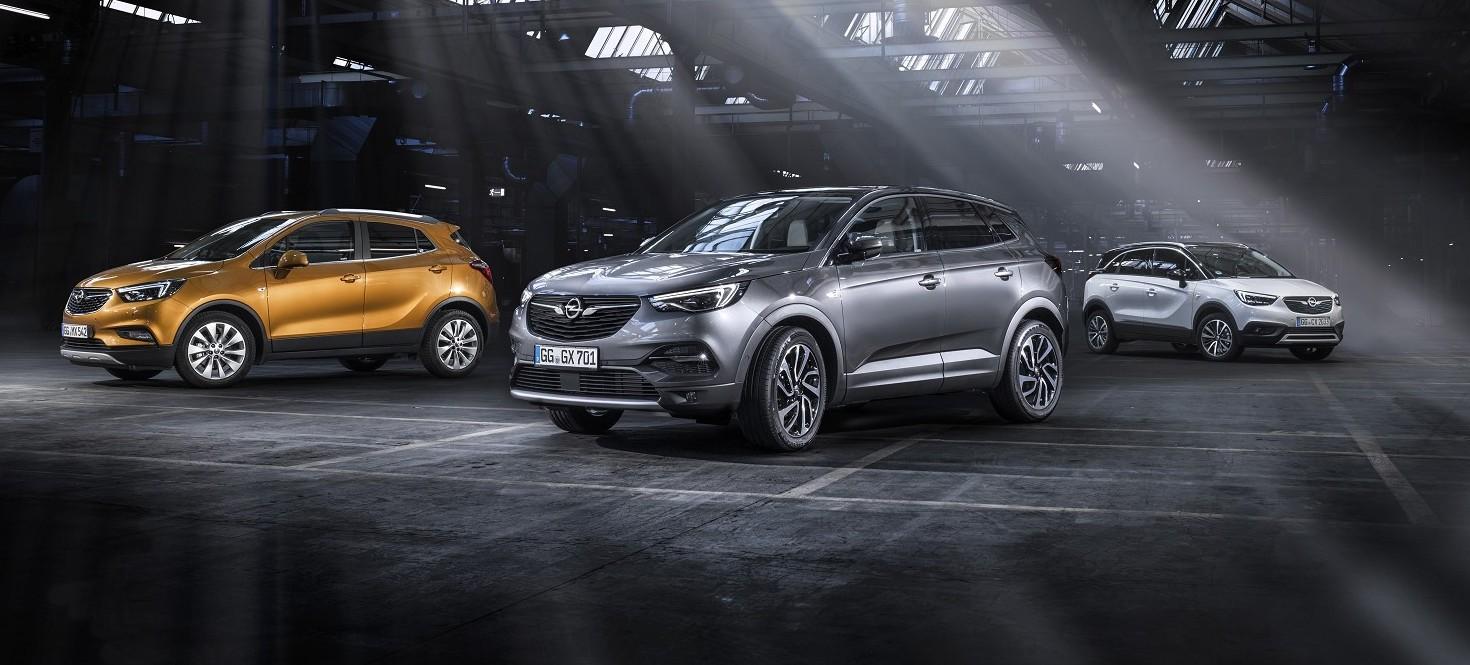 Opel, gamma SUV in promozione a tasso ze