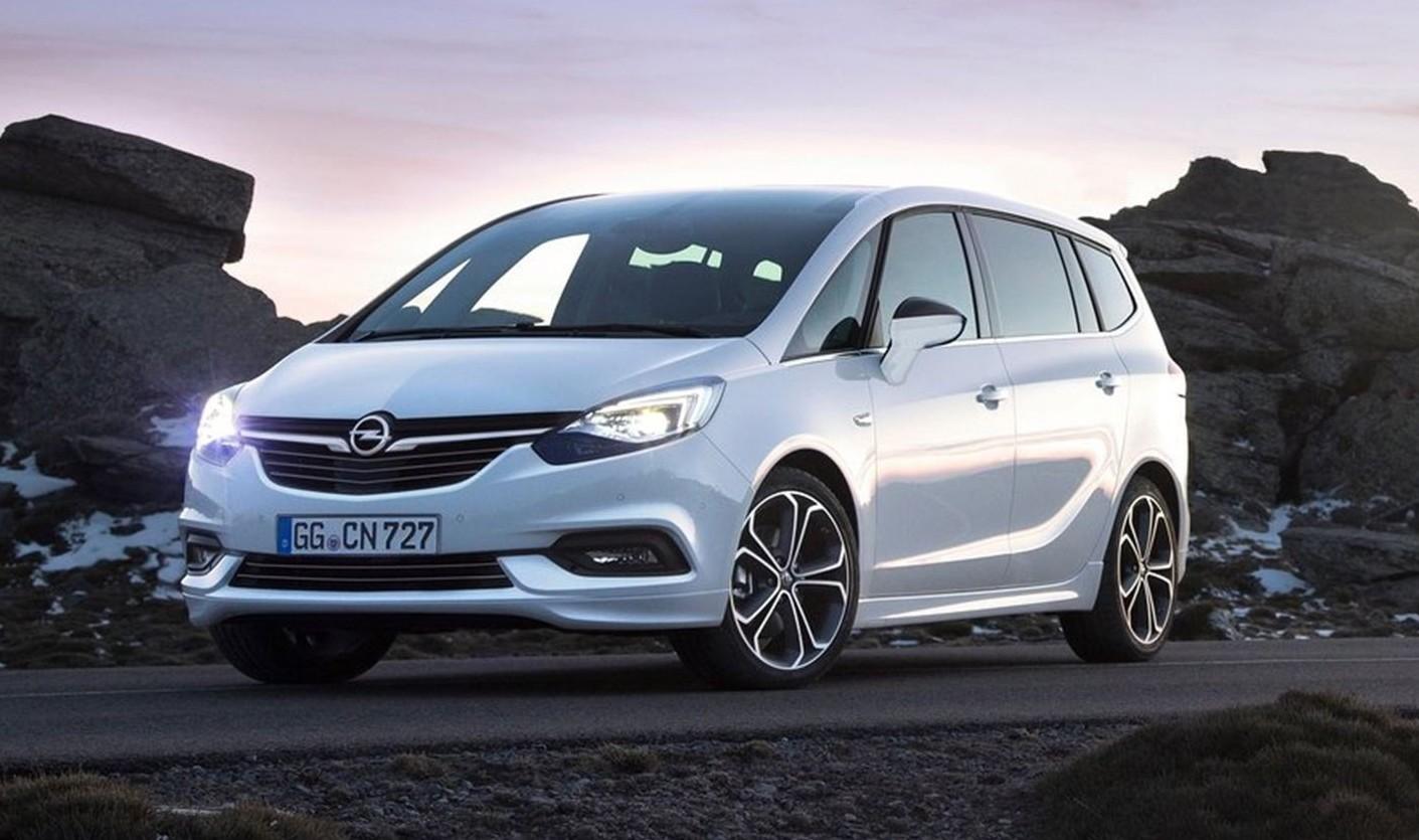 opel zafira 2019-2020 prezzi, motori, versioni, consumi