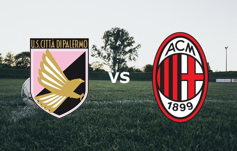 Palermo Milan streaming live gratis su l