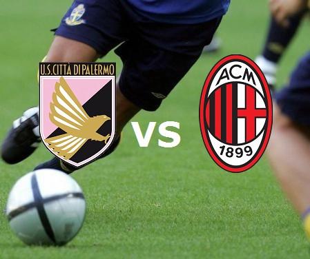 Palermo Milan streaming live gratis dire
