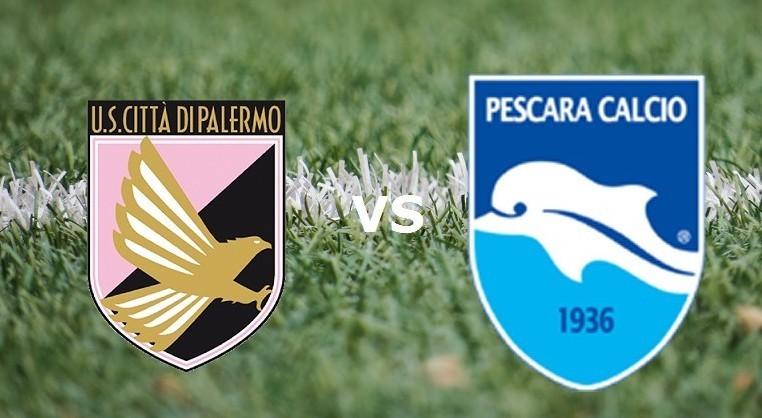 Palermo Pescara streaming live gratis di