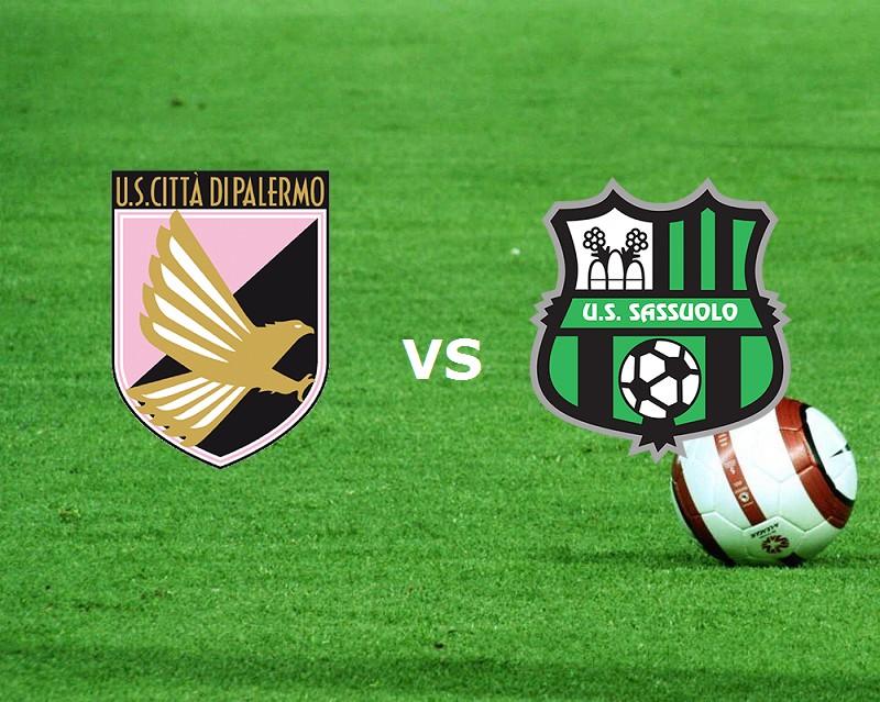 Palermo Sassuolo streaming live gratis l