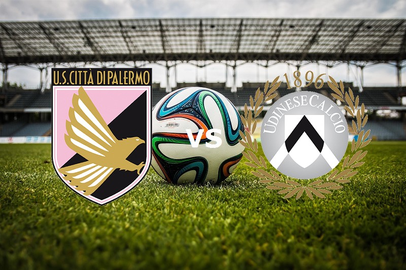 Palermo Udinese streaming gratis live mi