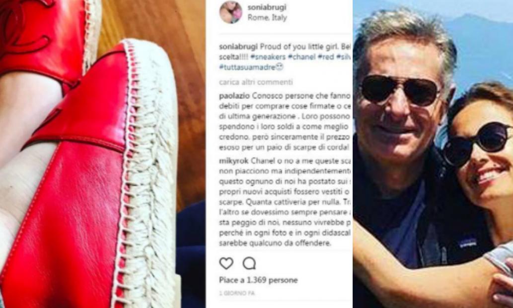 Paolo Bonolis compra alla figlia di 13 a