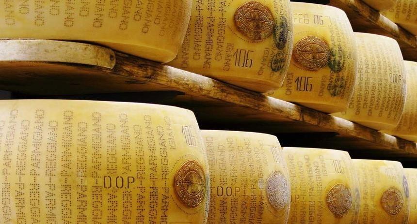 Parmigiano Reggiano, formaggio Dop migli