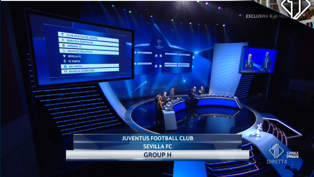 Partite streaming Champions League su li