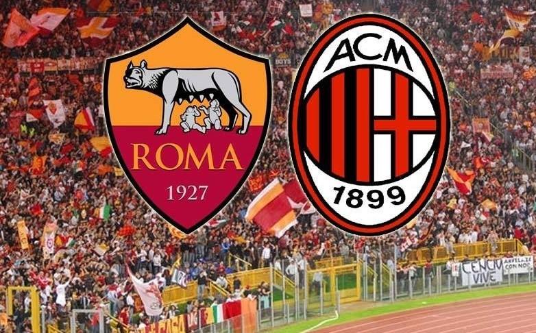 Partite streaming Roma-Milan gratis live