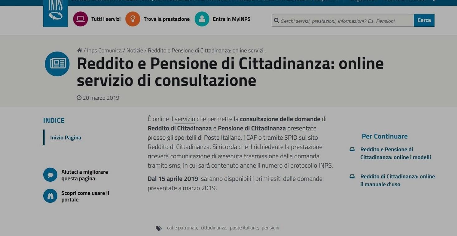 Pensione minima 2019 e pensioni di citta