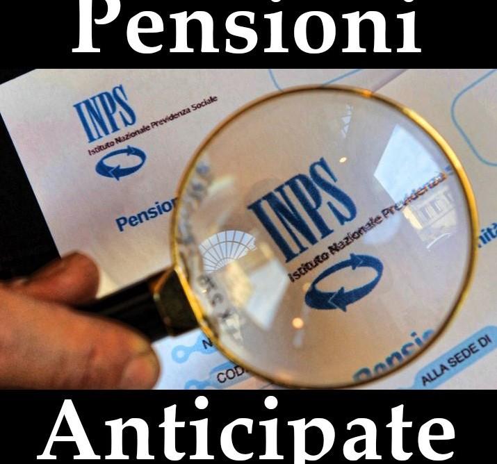 Pensioni anticipate 2019 Senato data e v