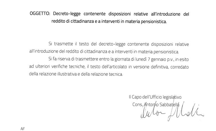 Pensioni novità decreto uscita bozza ogg