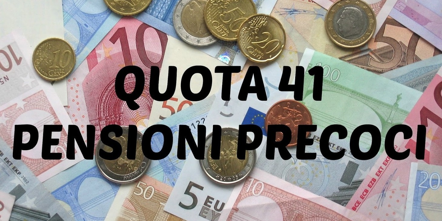 Pensionie anticipata quota 41 per tutti