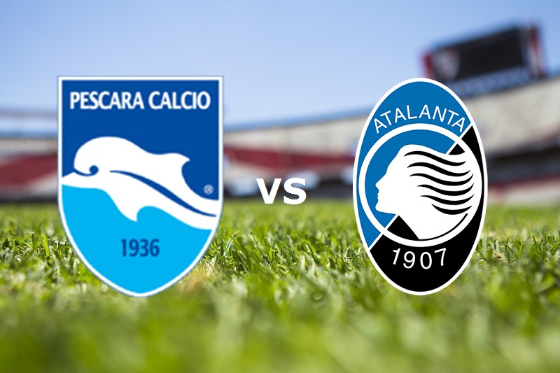 Pescara Atalanta streaming live gratis s