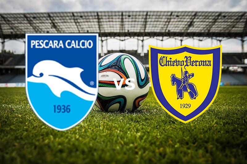 Pescara Chievo streaming live gratis lin