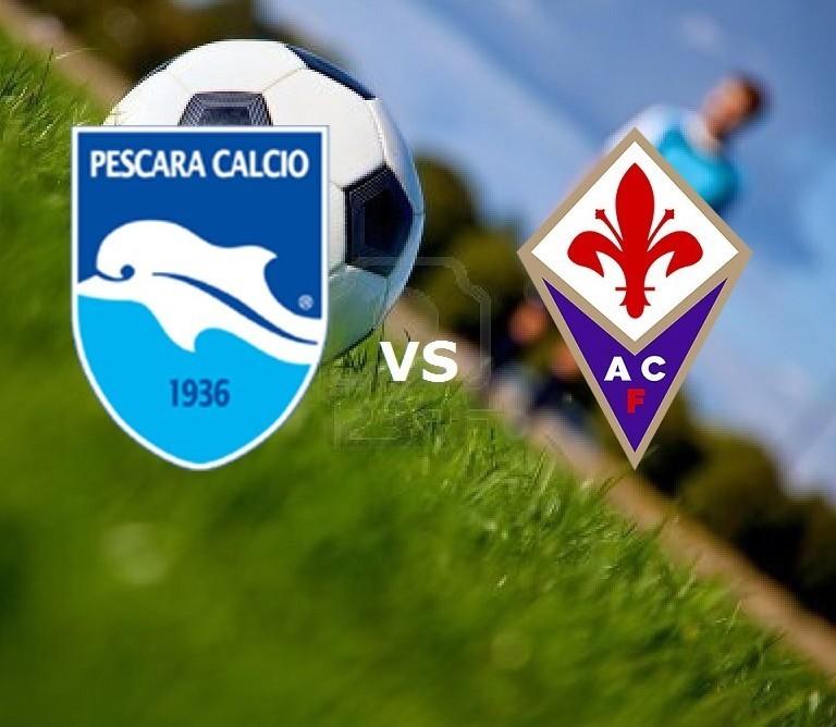 Pescara Fiorentina streaming gratis live