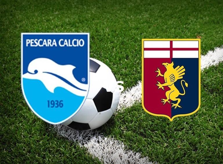 Pescara Genoa streaming live gratis per