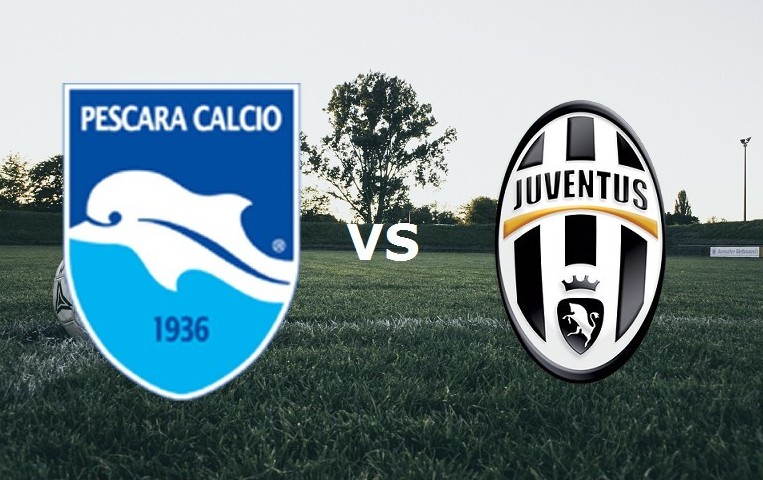 Pescara Juventus streaming live gratis d