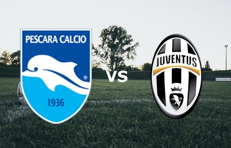 Pescara Juventus streaming gratis live p