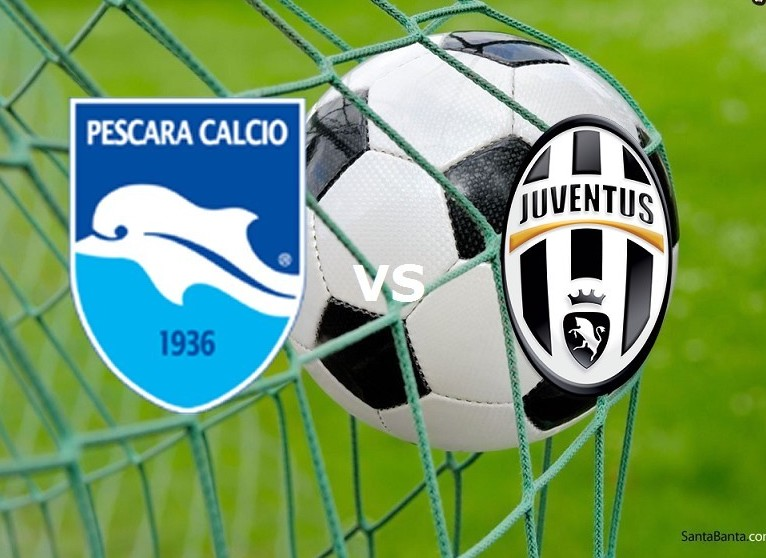 Pescara Juventus streaming live gratis l