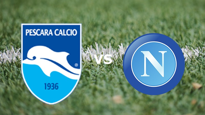 Pescara Napoli streaming live gratis dir
