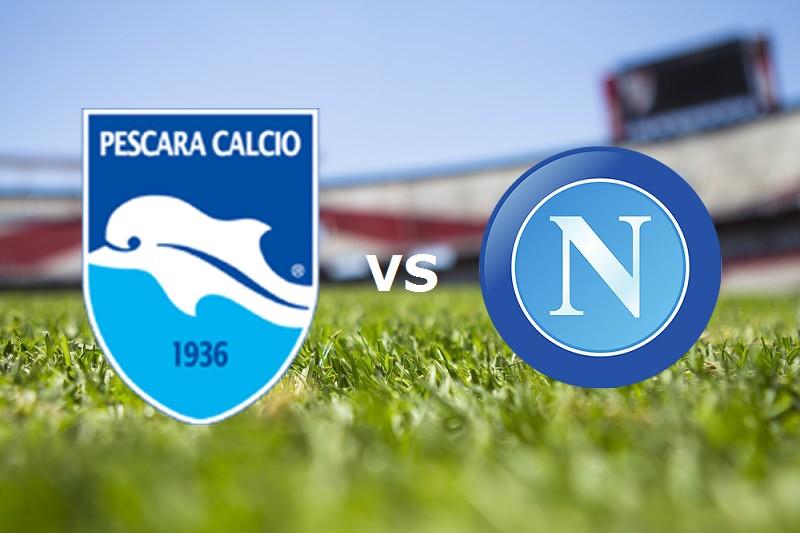 Pescara Napoli streaming live gratis per