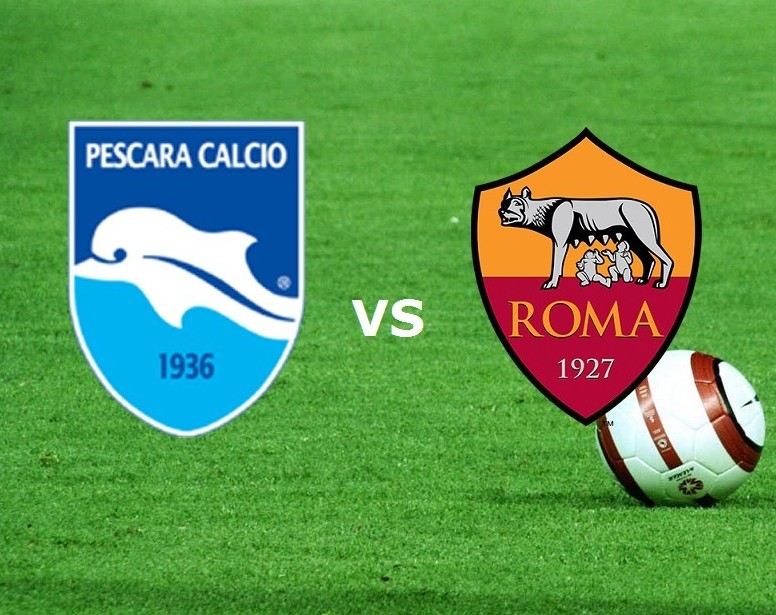 Pescara Roma streaming quando e come