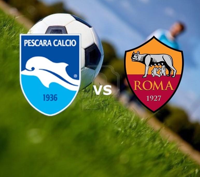 Pescara Roma streaming. Siti web. Dove e